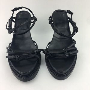 NWOT Ann Demeulemeester strappy leather sandals
